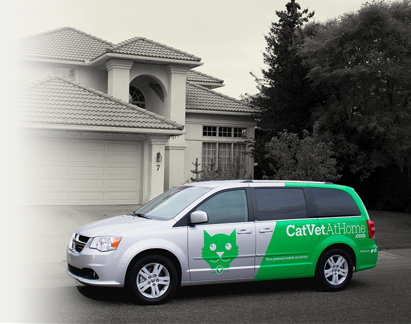Cat Vet At Home vehicle